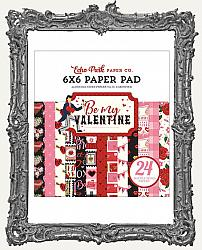 6X6 Echo Park Double-Sided Paper Pad - Be My Valentine