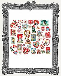Simple Stories - Simple Vintage My Valentine Card Ephemera Pack 40 Pieces