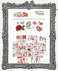 Simple Stories - Simple Vintage My Valentine Mini Sticker Tablet 467 Stickers