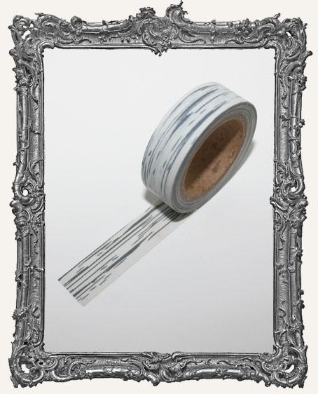 Washi Tape - Grey Ash Bark