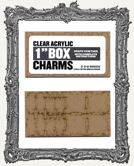 Clear Acrylic - 1 Inch Box