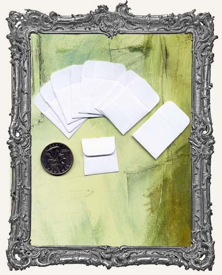 10 Mini Envelopes - 1 Inch