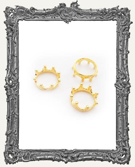 Gold Crowns - Set of 4