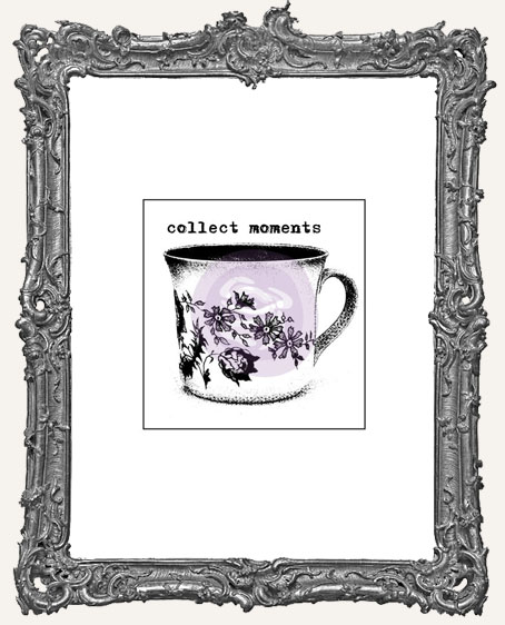 Finnabair Wood Mounted Stamp - Collect Moments