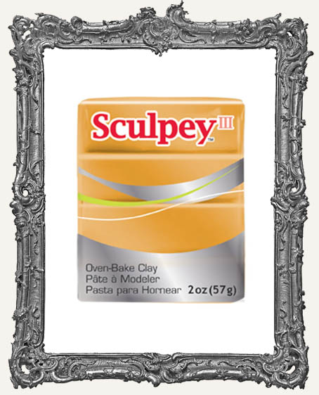 Sculpey III Polymer Clay 2oz - Gold