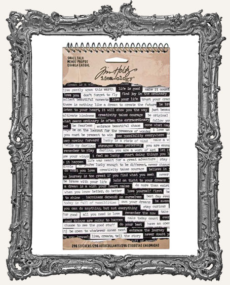 Tim Holtz Idea-ology - Small Talk Word Stickers