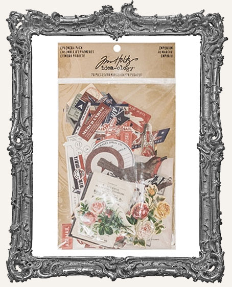 Tim Holtz - Idea-ology Collection - Ephemera Pack - Emporium