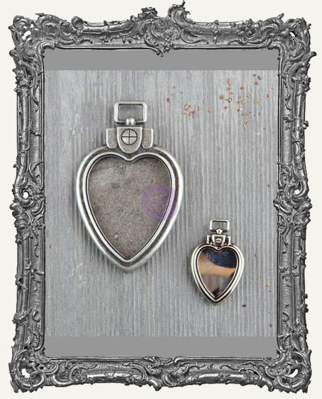 Finnabair - Mechanicals - Heart Locket Pendants