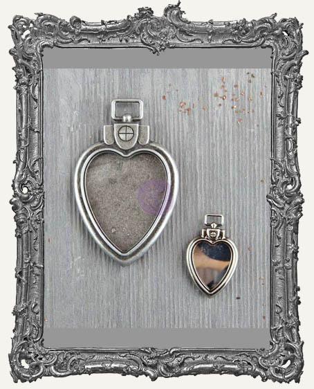 Finnabair - Mechanicals - Heart Locket Pendants