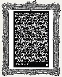Prima Finnabair Stencil - Swirly Florals
