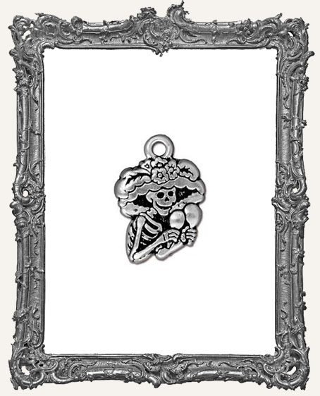 Catrina Day of the Dead Charm