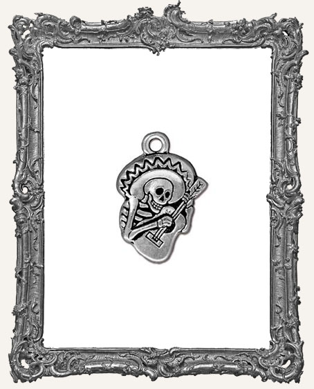 Guitaro Day of the Dead Charm