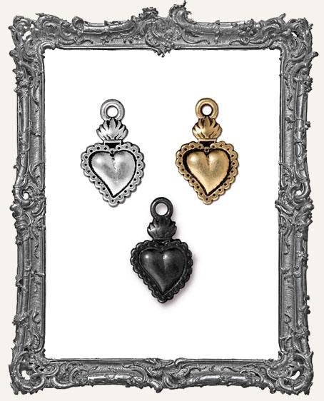 Heart Milagro Charm