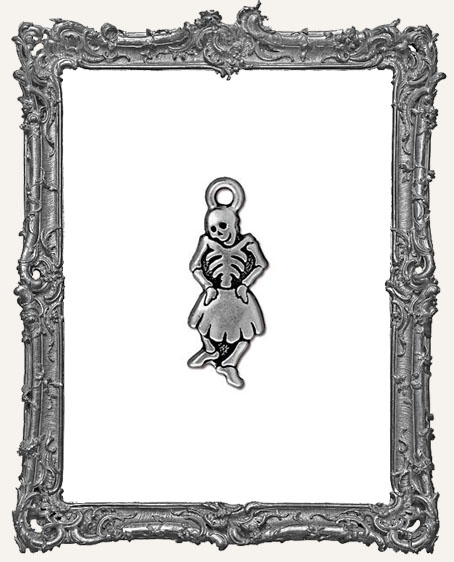 Dancing Senorita Day of the Dead Charm