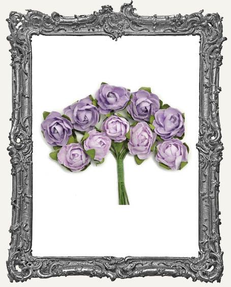 Mini Paper Blooms - Amethyst