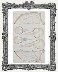 Finnabair Prima Art Decor Mould - Birds and Bats