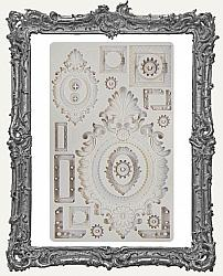 Finnabair Prima Art Decor Mould - Grungy Frames