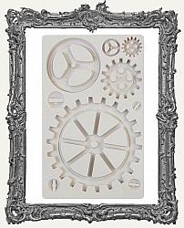 Finnabair Prima Art Decor Mould - Large Gears