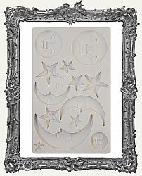 Finnabair Prima Art Decor Mould - Nocturnal Elements