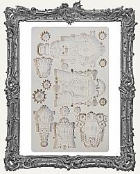Finnabair Prima Art Decor Mould - Queens of Steam