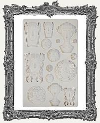 Finnabair Prima Art Decor Mould - Vintage Portraits