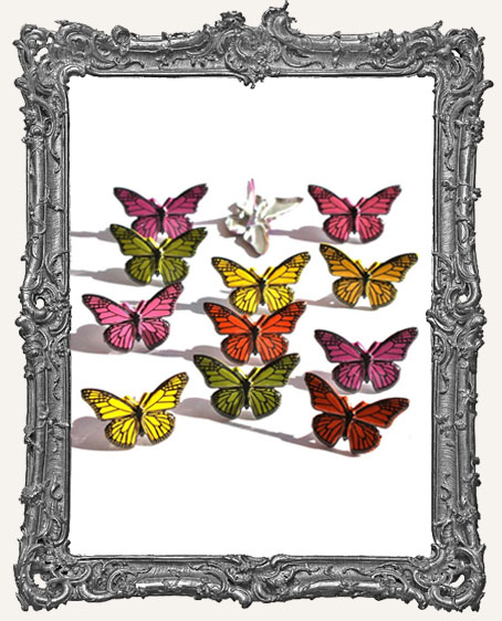 Butterfly Brads - 12 Piece
