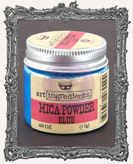 Finnabair - Art Ingredients - Mica Powder - Blue