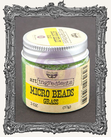 Finnabair - Art Ingredients - Micro Beads - Grass