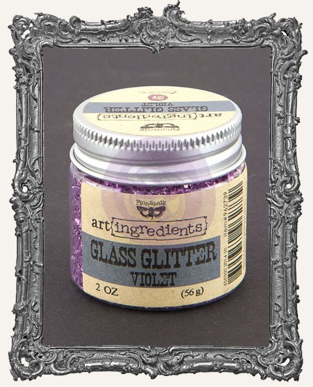 Finnabair - Art Ingredients - Glass Glitter - Violet