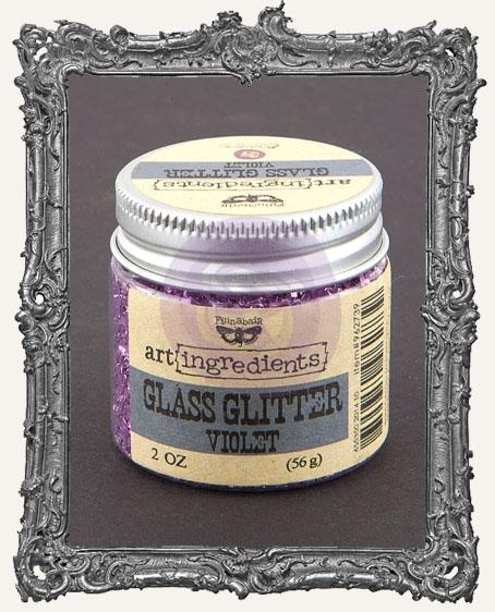 Finnabair - Art Ingredients - Glass Glitter - Violet