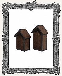 Mini Houses Shrine Kit - Set of TWO Houses
