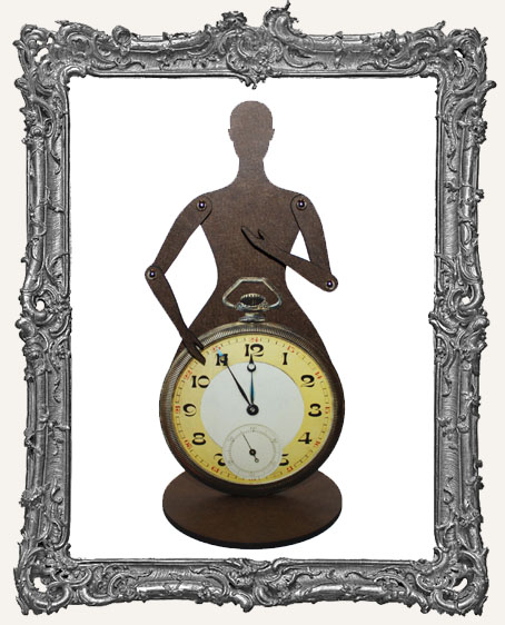 Articulated Art Doll Kit - Medium Vintage Pocket Watch