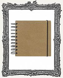 Finnabair - Art Daily - Chipboard Cover Journal - 5 x 5 Inch