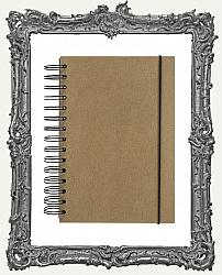 Finnabair - Art Daily - Chipboard Cover Journal - 5.5 x 8 Inch