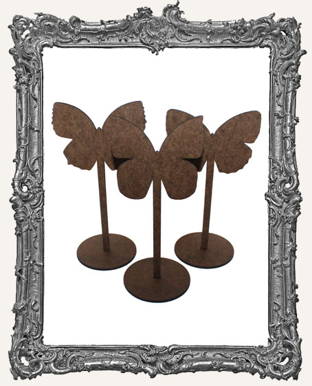 Butterfly Sticks Stand Ups Set of Three