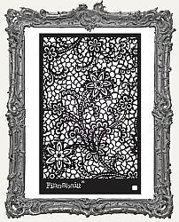 Prima Finnabair Stencil - Floral Net
