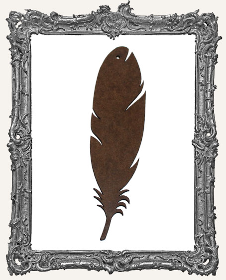 Masonite Large Feather - Style 2