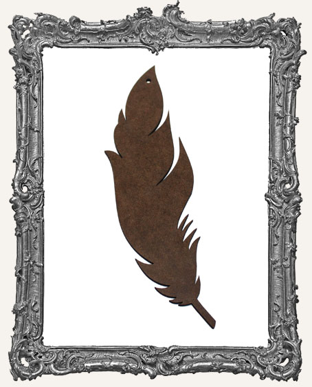 Masonite Large Feather - Style 1