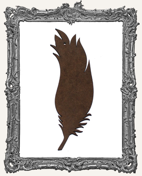 Masonite Large Feather - Style 3