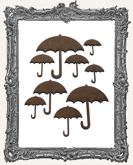 Umbrella Cut-Outs - 9 Pieces
