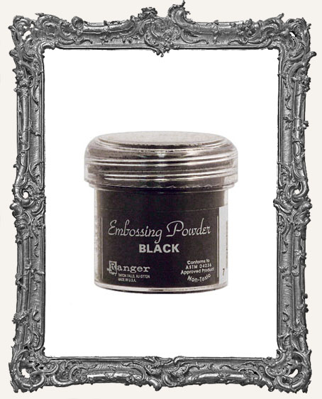 Embossing Powder - Ranger - Black