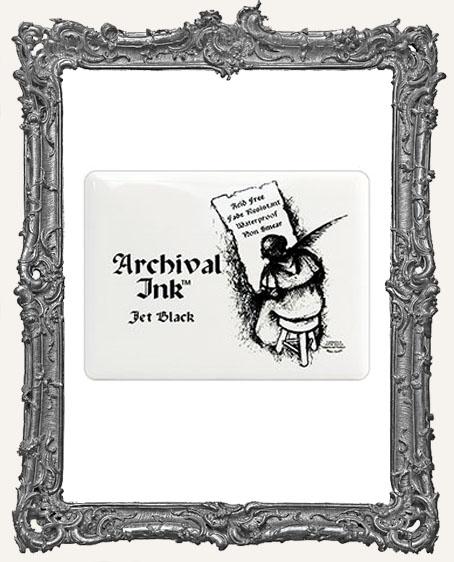 Archival Ink Jumbo #3 Pad - Jet Black