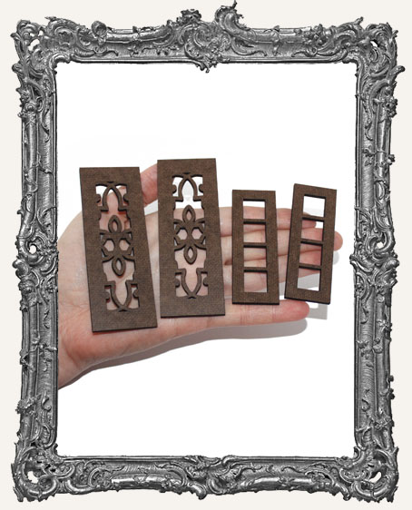 Double Door Cut-Outs - Classic and Ornate Screen