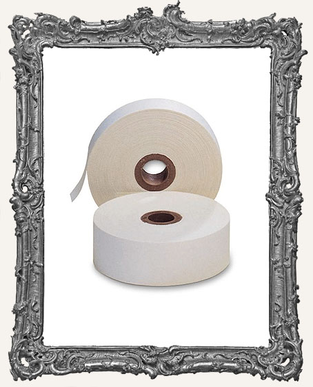 White Linen Hinging Tape - 1 yard
