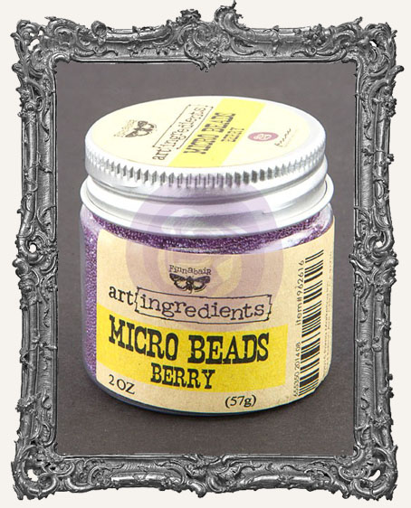 Finnabair - Art Ingredients - Micro Beads - Berry