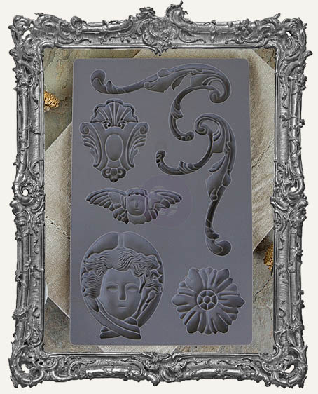 IOD Iron Orchid Vintage Art Decor Mould - Baroque 1