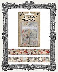 Tim Holtz - Idea-ology - Floral Linen Tape
