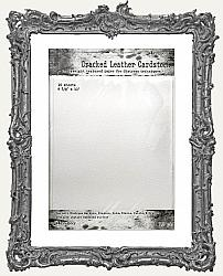 Tim Holtz Distress Cracked Leather Cardstock - 8.5 x 11 Inch - 10 Pack
