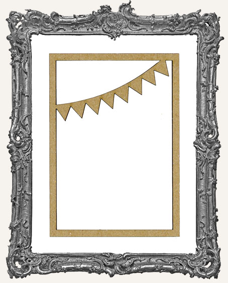 ATC Frame - Curved Circus Flags