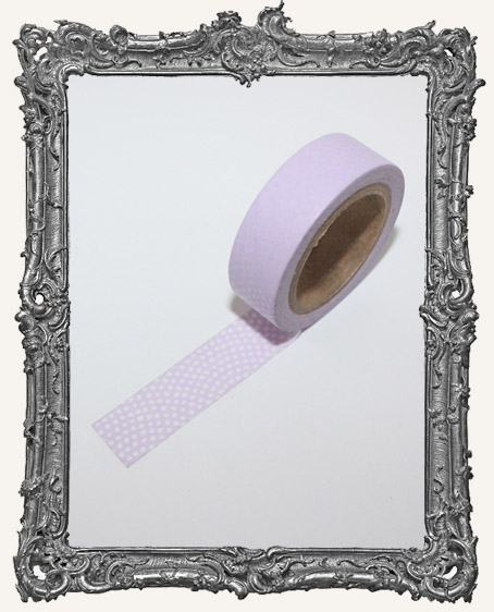 Washi Tape - Purple Fun Dots